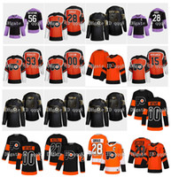 2021 Filadelfia Flyers Hockey Jersey Claude Giroux Kevin Hayes Erik Gustafsson Carter Hart Nolan Patrick Sean Couturier Jakub Voracek