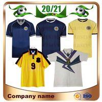 1982 Version rétro de la Coupe du Monde Scotland Soccer Jersey 1986 94/96/98 Galacher Hendry McCoist Burley Lambert Football Shirt