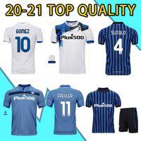 2021 Atalanta Futebol Jerseys Gomez 2020 2021 L.Muriel Ilicic Camisa de Futebol Gosens de Roon Duvan Retro Malinovskyi Miranchuk Pasalic Jersey