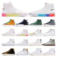blazer mid 77 vintage mens fashion shoes women Have A Good Game Thermal White green black Habanero Red sport sneakers outdoor