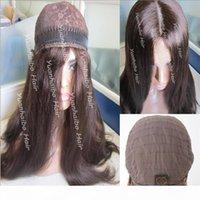 8A Grade Human Hair Beste Scheifern 4x4silk Top Jüdische Perücken Feinste Jungfrau Mongolian Haare Kosher Perücken Capless Perücken Kostenloser Versand