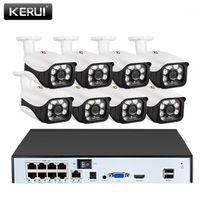 Kerui HD 8CH NVR Cámara Cámara CCTV inalámbrica Cámara IP al aire libre 5MP WiFi Inicio Seguridad Video Video Video Detección de movimiento Alarma NVR Kit1