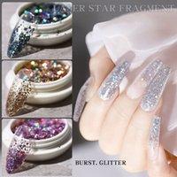 Fashion Irrégular Laser Star Fragment SEQUIN COLLECTION Changer Changer Changement Flash Aurora Mirage Nail art