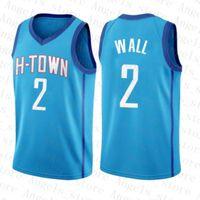 John 2 Wall HoustonRocket Kyrie Ja 12 Morant 11 Irving Zion 1 Williamson Dwayne Dwyane 3 Wade 2020 2021 Nouveau Jersey de basketball