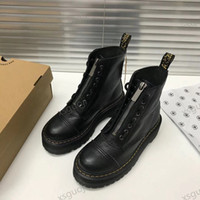 2021 New Lucyever Womens осень зима лодыжки ботильоны на шнуровке плоские каблуки хлопок мягкие платформы обувь женщины кожаные военные ботас Muje