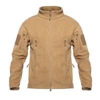 TAD Winter Warm Fleece Chaquetas tácticas hombres militares a prueba de viento espesar chaquetas de múltiples bolsillos Casual Sudadera con capucha Ropa 201022