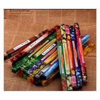 Mix Color Fashion Handmade Darshan Incenso Smoke Stick Stick Incenso Incenso Bastoncini multiple Fragranza 8pcs = Jllzow Eagout