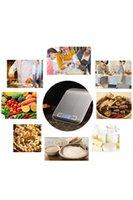 Mini dijital mutfak ölçeği ağırlık gram ve pişirme pişirme için oz 1g / 0.1oz hassas mezuniyet paslanmaz çelik ve temperli cam YYB4180