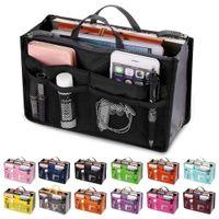 أدوات الزينة المكياج ماكياج المنظمون حقيبة الهاتف حالة tional حقيبة مزدوجة سستة أكياس تخزين متعدد الطبقات حقيبة السفر أدوات تخزين الأكياس المنزلية DHC4367