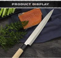 Küchenmesser Laser Chefmesser Japanische Lachs Sushi Messer Edelstahl Sashimi Küchenmesser Rohe Fischfilet Layer Cook Messer