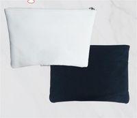 الفراغات التسامي المحفظة diy قماش حقيبة سستة تخزين أكياس بيضاء صغيرة المرأة رجل محافظ الأصالة المحمولة الساخن بيع 8 5JY M2