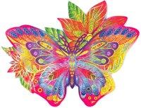 Древесина Trick Jewelfull Butterfly деревянная головоломка для взрослых и детей - животных уникальные формы головоломки кусочки головоломки - премиум качества