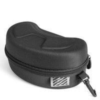 휴대용 EVA 스키 고글 안경 보호대 케이스 (고글없이) 안경 상자 선글라스 지퍼 보관 가방 버클 훅