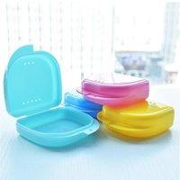 Mond Guard Case Dental Orthodontische Retainer Box Case Plastic Tafelblad Doos Tanden Container Kinderbox ZYY175