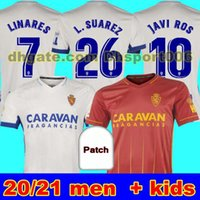 Mann + Kinder 20 21 Echte Zaragoza Fussball Jersey 2020 2021 Zaragoza Shinji Kagawa André Pereira Alberto Camisetas de Futbol Set Football Hemden