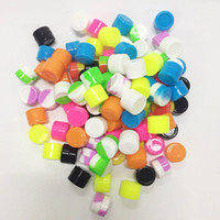 2ML 100pcs lot non-stick silicone jars silicone dab wax container food grade silicone box wax container DHL