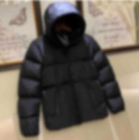 20FW Classic Invierno Abajo Chaqueta Junto Jside Letters Hombres Abarcadero Abarcadero Sólido Sólido Abrigo Mujer Streetwear Homme Moda Outdoor Outwear