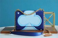 M57460 Jogo no saco de cadeia Moda Menina Cross Body Back Bag Corrente Bolsa Popular Bolsa de Embreagem Bolsas de Noite com Chain Strap