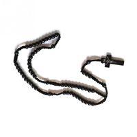 Ретро стиль мужчин женщин католический Христос деревянный розарий бусин крест подвеска тканые веревочки ожерелье 2021