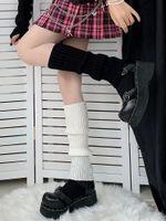 Meias Hosiery Lolita Mulheres Japonesas Gótico Longas Femininas Leggings Gaiters Knee Goth Thitted Punhos Akle Botas