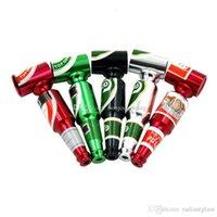 Мини пивная бутылка металлическая труба 3.27-дюймовые трубы курения масляные горелки лучший подарок для курильщика портативный травяной табачной рукой