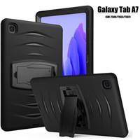3In1 Tablet Tablet Tablet Tablet Fundas para Samsung TAB T505 T860 T500 T280 P610 iPad 2 3 4 10.2 10.5 9.7 Air Pro 11 Mini 5 Hybrid Hard PC Hard Soft Silicone Funda Atrás
