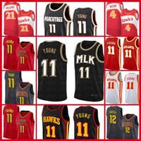 TRAE 11 Jerseys Jersey Baskeball AtlantaHalcónJersey Spud 4 Webb de'Andre 12 Hunter Jamal 27 Murray BrooklynRedesHombres