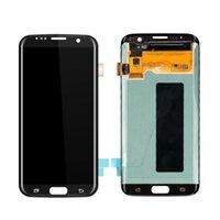 100% Samsung Galaxy S7 Kenar G935 için Test Edilen Ekran Dokunmatik Ekranlı LCD Dokunmatik Ekran Digitizer
