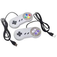 Controlador retro USB Retro Super GamePad para Nintendo SNES PC y Mac System Manden