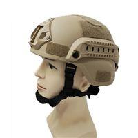 Qualidade Leve capacete rápido Capacete de proteção tático para airsoft paintball caça CS Swat Ciclismo Motocicleta
