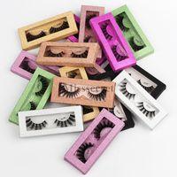 Faux 3D норковые ресницы ресницы удлинительные накладные ресницы поддельные норковые ресницы упаковывая коробка макияж глаз ресница для красоты