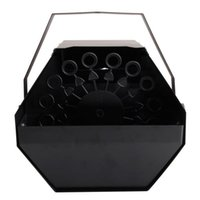 25W AC110V Mini Bubble Machine easy to carry Stage Lighting for Wedding / Bar / Stage Black wholesale