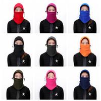 Açık Bisiklet Şapka Unisex Snowboard Spor CS Maskesi Rüzgar Geçirmez Yüz Maskesi Termal Balaclava Sürme Kayak Caps Headgear Eşarp CCA12656