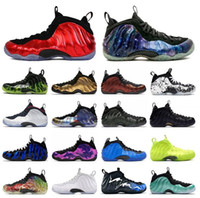 2021 New Air Foamposite PRO One Penny Hardaway Mens Basketball Shoes Penny Hardaway For Men Sports Sneakers Og Royal Foam One Eggplant Purple Foams Night Maroon Gum Trainers