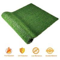 5x3.3ft Синтетический ландшафтный ландшафтный фальшивый травяной коврик искусственный газонный газон