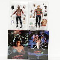 Freddy Krueger Figur Neca En mardröm på Elm Street Freddy Krueger Freddy's Nightmares Action Figur Toy Horror Halloween Gift Q1123