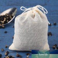20pcs / lote Vaciar bolsas de té con cadena Filtro de utensilios de té para la hierba SOBRE TEA SOBRE SOBRETING COCCIÓN COCINA DE TEABAJES ACCESSARIOS DE COCINA