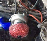 Turbo Turbo Supercharger Kit de empuje Motocicleta Turbocompresor eléctrico Filtro de aire Ingesta para todos los automóviles Mejorar la velocidad