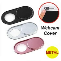 1PC 6PC Ultra Thin Webcam Cover Shutter Magnet Slider Metal Camera Cover For iPhone Laptop Macbook Lens Privacy Sticker Xiaomi
