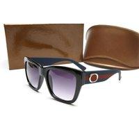Nuevas gafas de sol de la mujer clásica Gafas de la marca UV400 para hombre Gafas de sol de la marca Gafas de sol Gafas de lujo con caja Glitter2009 Q37
