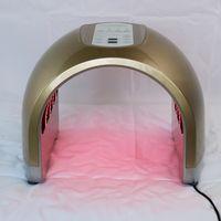 건강 아름다움 4 색 조명 LED 광자 PDT 얼굴 피부 관리 회춘 PDT 치료 장치 휴대용 가정 사용