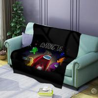 8 أنماط طباعة بطانية بين الولايات المتحدة الصوف بطانية microfibe السجاد لعبة الشكل الكرتون المطبوعة الصوف يمكن ارتداؤها السرير الفراش هدية