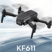 KF611 Дрон 4k HD Camera Professional Воздушная фотография Вертолет 1080P HD Широкоугольная камера WiFi Изображение Подарок передачи