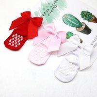 Jaycosin Novos Crianças Crianças Meninas Grande Bow Joelho Alto Long Soft Algodão Lace Baby Meias Princesa Doce Dress Up Socks1