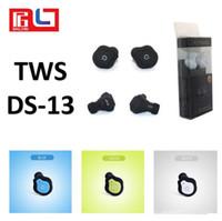 Super Mini Auriculares TWS DS-13 Tws Bluetooth Auricular Portátil Mini inalámbrico Oído Bud Estéreo Auriculares Bluetooth Auriculares Bluetooth