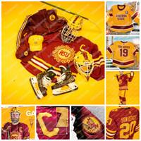 Jersey Hockey 1975 Jersey Arizona State Sun Devils Connor Stuart Gvido Jacob Wilson Johnny Walker NCAA College Hockey Jersey