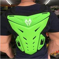 Motorrad-Körper-Rüstung Motorradjacke Moto Motocross Weste Off-Road Dirt Bike Schutzausrüstung Back Brustschutz