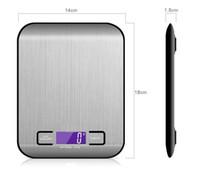 5000 جرام / 1 جرام الصمام الموازين المطبخ الرقمية الإلكترونية متعددة الوظائف الغذاء مقياس الفولاذ المقاوم للصدأ LCD الدقة المجوهرات مقياس الوزن balan FFD4598