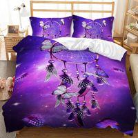 Boho Dream Catcher Bettbezug 3pcs Quilt Cover Bettwäsche Set Königin King Cleasure Einzelbettwäsche Mädchen Schlafzimmer