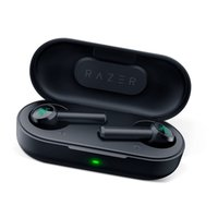 2021 Hot Razer Hammerhead True Wireless Kopfhörer Tws Bluetooth 5.0 IPX4 In-Ear-Ohrhörer Eingebautes Mikrofon Ein- / Ausschalter Kopfhörer Headsets